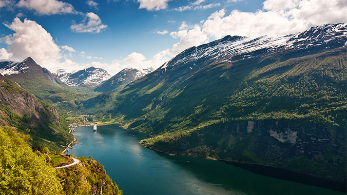 The Fjords and Coast of Norway