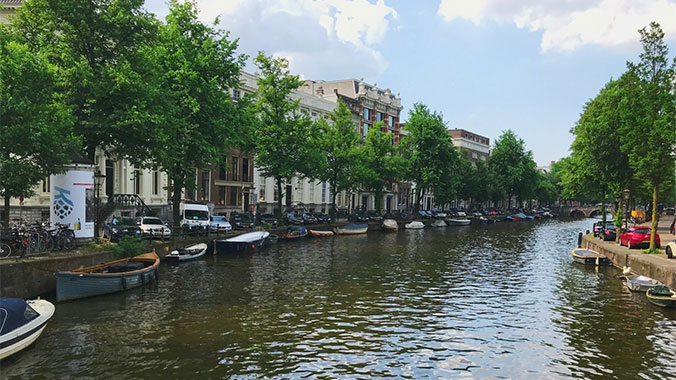 Flowers, Windmills & Works of Art: Amsterdam with Your Grandchild