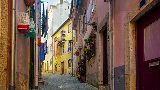 Lisbon Portugal city walks