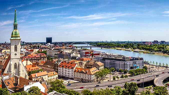 Central Europe along the Danube