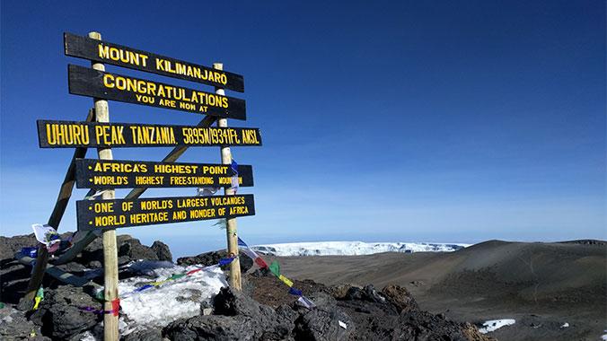 Hiking Mt. Kilimanjaro: Camp and Climb to the Summit