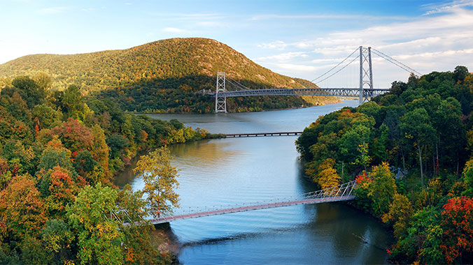 Autumn in the Historic Hudson River Valley