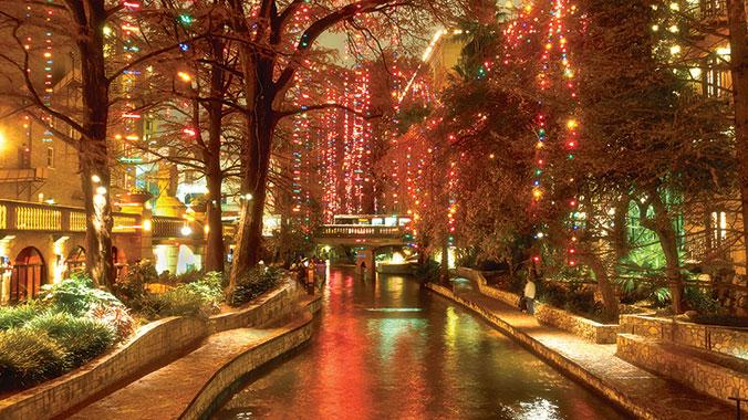 san antonio christmas lights