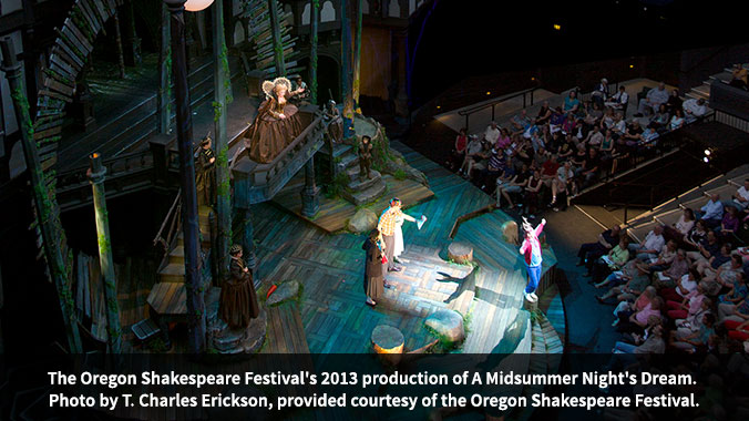 Oregon Shakespeare Festival, Ashland