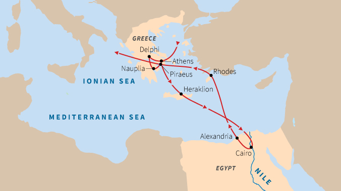 Egypt and Greece: Voyages to Antiquity
