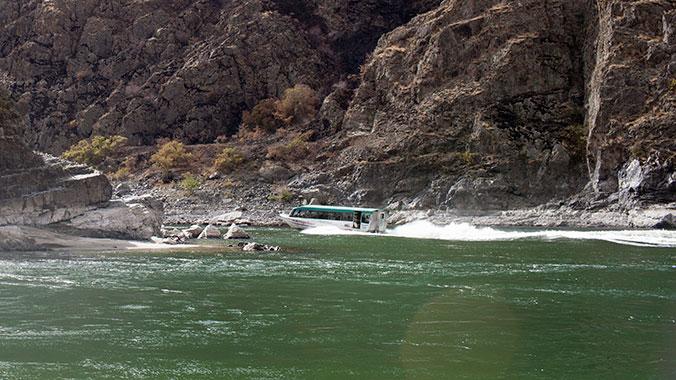 White Water Rafting with Grandchild Idaho