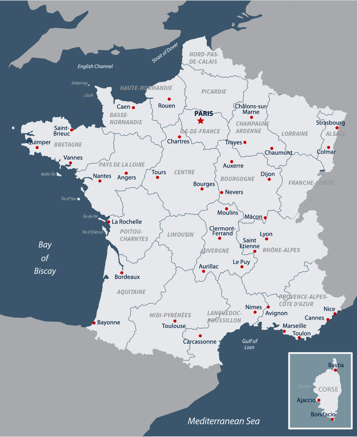 Map Of France And Luxembourg.French Geography Weather Road Scholar Travel Guide