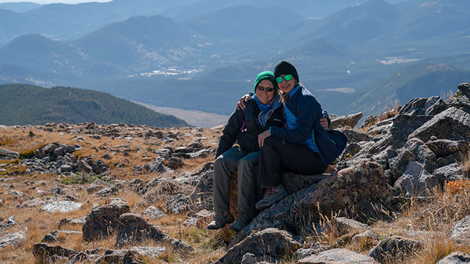 Hiking Rocky Mountain National Park for Women