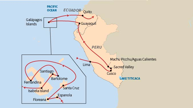 Discovering Machu Picchu & Galapagos