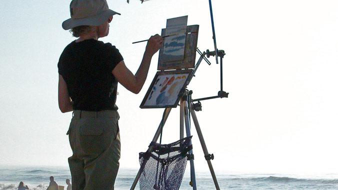Painting the Natural Paradise of Chincoteague Island