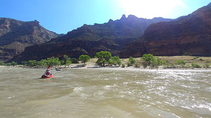 Rafting and Stargazing Desolation Canyon Utah
