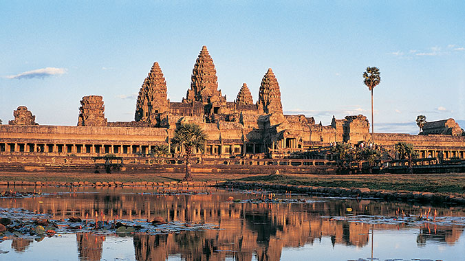 Angkor Wat and the Mekong River