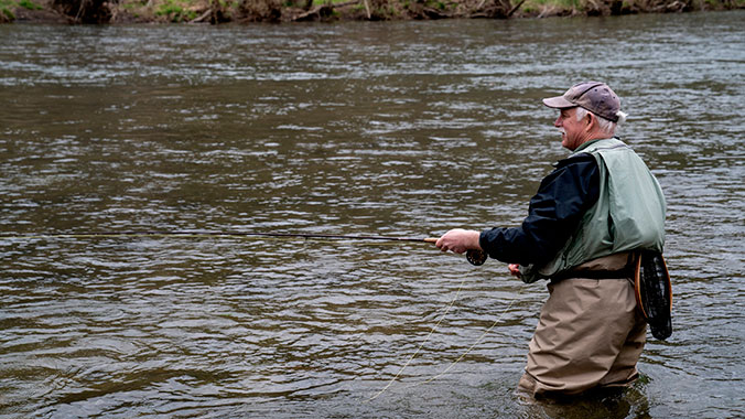 Fly Fishing in the Mountains of Southwest Virginia