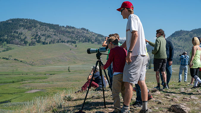 A Family Camping Adventure in Yellowstone and the Tetons