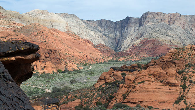 Backpacking Southwestern Utah