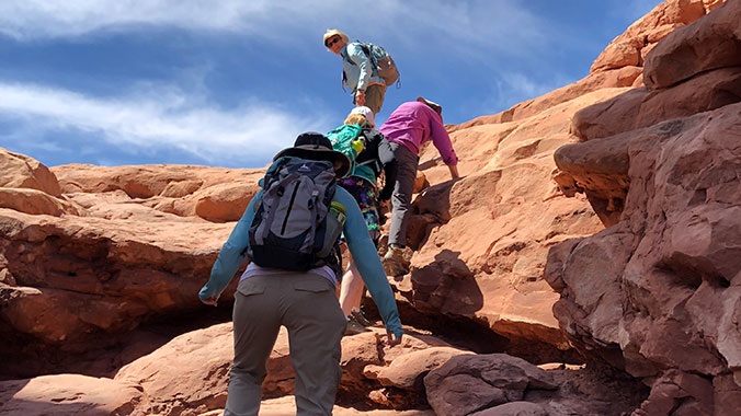Hiking Arches and Canyonlands National Parks